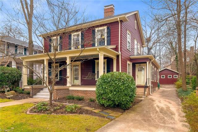417 Woodlawn Avenue, Greensboro, NC 27401 (#961435) :: Premier Realty NC