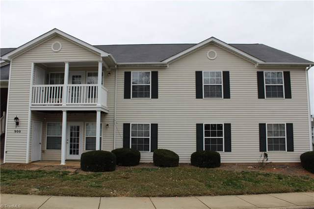 900 Hanahan Court 2D, Greensboro, NC 27409 (MLS #961754) :: Ward & Ward Properties, LLC