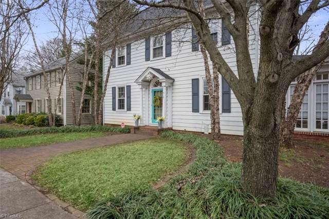 519 Hawthorne Road, Winston Salem, NC 27103 (MLS #962101) :: Ward & Ward Properties, LLC