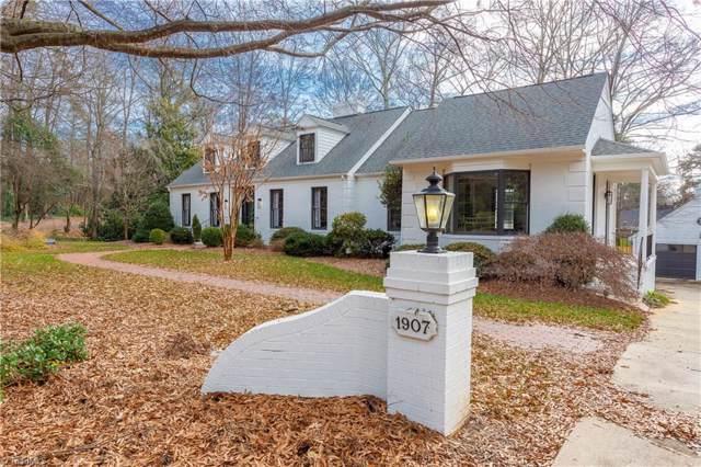 1907 Rosecrest Drive, Greensboro, NC 27408 (MLS #965038) :: Ward & Ward Properties, LLC