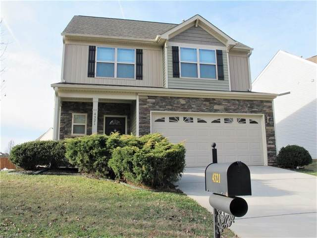 4321 Morning Ridge Lane, Winston Salem, NC 27101 (MLS #965052) :: Ward & Ward Properties, LLC