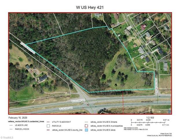 W Us Highway 421, Wilkesboro, NC 28697 (MLS #966536) :: Ward & Ward Properties, LLC