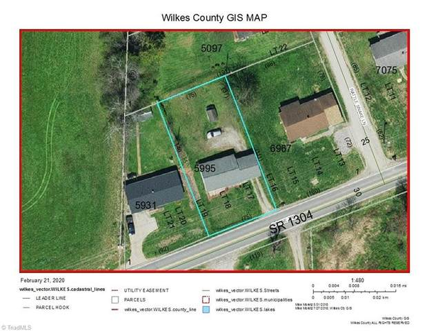5698 Boone Trail, Millers Creek, NC 28651 (MLS #967879) :: Ward & Ward Properties, LLC