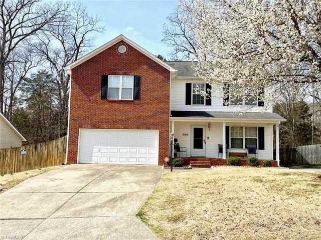 5460 Angel Oaks Drive, Winston Salem, NC 27105 (MLS #968101) :: Berkshire Hathaway HomeServices Carolinas Realty