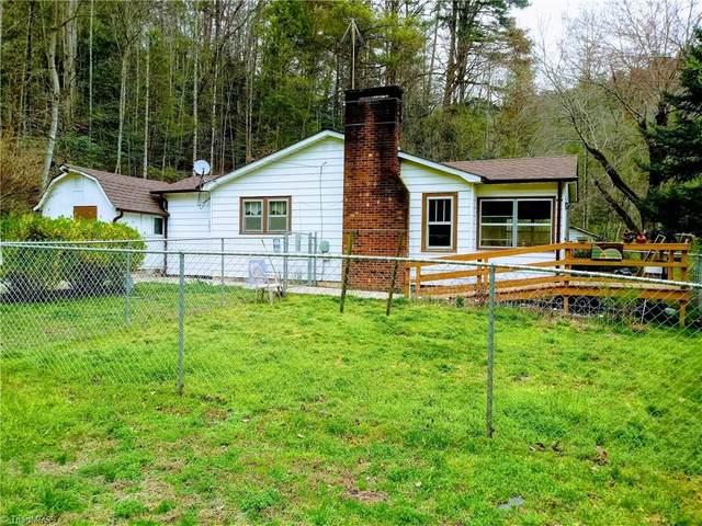 505 Caseys Branch Road, Purlear, NC 28665 (MLS #970946) :: Ward & Ward Properties, LLC