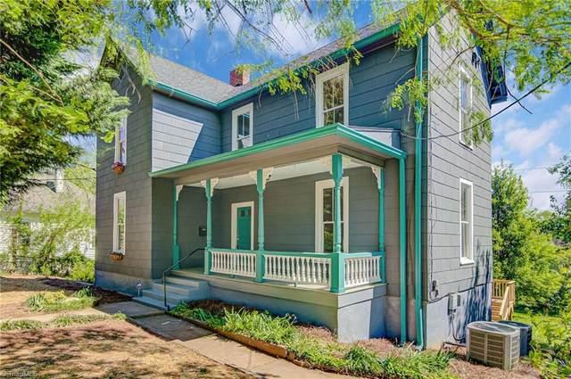 627 Mulberry Street, Winston Salem, NC 27101 (MLS #972762) :: Ward & Ward Properties, LLC
