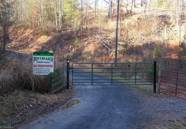 Bens Branch, Purlear, NC 28665 (MLS #975469) :: Berkshire Hathaway HomeServices Carolinas Realty