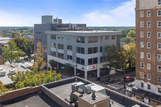 400 W 4th Street #304, Winston Salem, NC 27101 (MLS #976956) :: Ward & Ward Properties, LLC