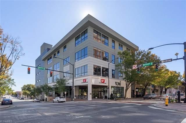 400 W 4th Street #401, Winston Salem, NC 27101 (MLS #976958) :: Ward & Ward Properties, LLC