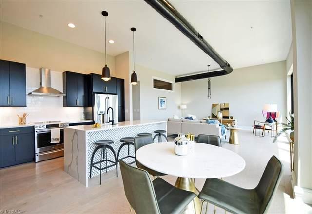 400 W 4th Street #404, Winston Salem, NC 27101 (MLS #977030) :: Berkshire Hathaway HomeServices Carolinas Realty