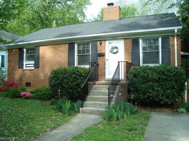 206 Crestland Avenue, Greensboro, NC 27401 (MLS #979448) :: Team Nicholson