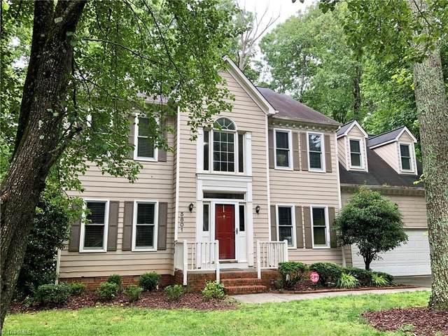 5801 Weston Drive, Greensboro, NC 27407 (MLS #981321) :: Berkshire Hathaway HomeServices Carolinas Realty