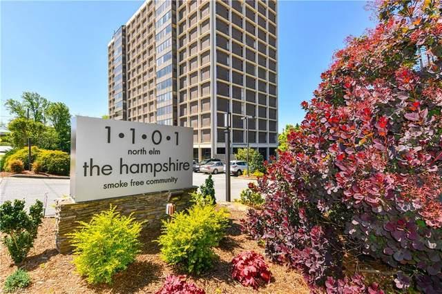 1101 N Elm Street #205, Greensboro, NC 27401 (MLS #983411) :: Team Nicholson