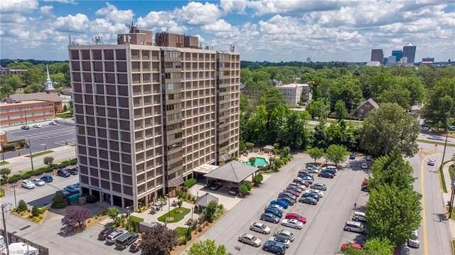 1101 Elm Street #806, Greensboro, NC 27401 (MLS #983833) :: Ward & Ward Properties, LLC