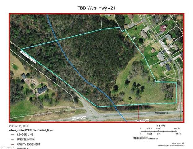 W Us Highway 421 W, Wilkesboro, NC 28697 (MLS #984213) :: Ward & Ward Properties, LLC