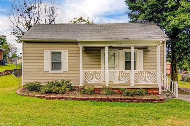 1405 Walnut Street, Greensboro, NC 27405 (MLS #985056) :: Ward & Ward Properties, LLC