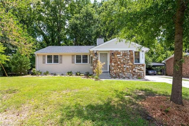 2702 David Caldwell Drive, Greensboro, NC 27408 (#988544) :: Premier Realty NC