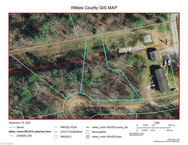 1 Hidden Brook Lane, North Wilkesboro, NC 28659 (MLS #993792) :: Berkshire Hathaway HomeServices Carolinas Realty