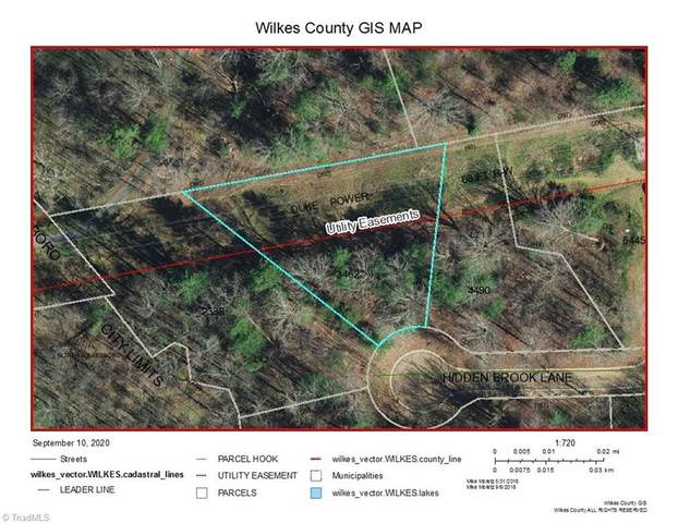 2 Hidden Brook Lane, North Wilkesboro, NC 28659 (MLS #994256) :: Ward & Ward Properties, LLC