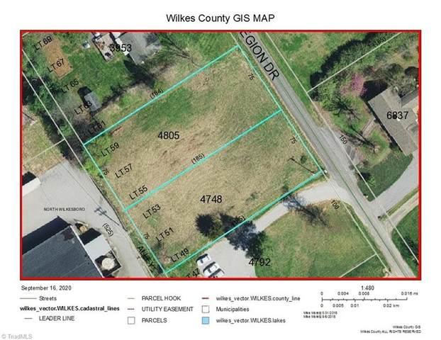 Legion Drive, North Wilkesboro, NC 28659 (MLS #994494) :: Ward & Ward Properties, LLC