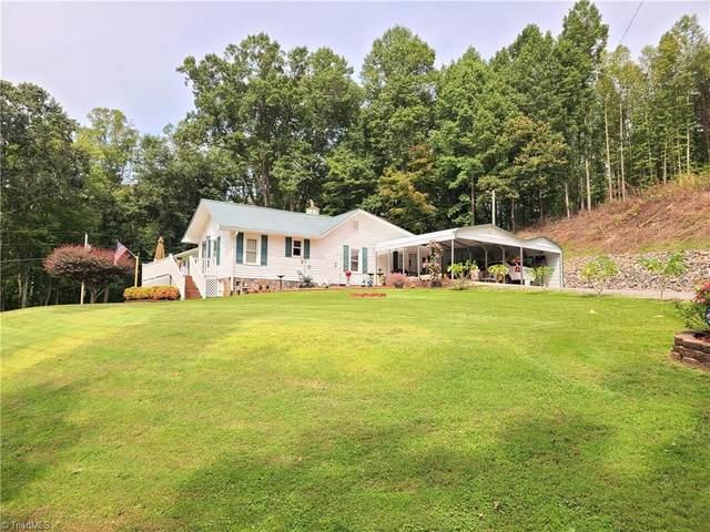691 Toms Creek Church Road, Pilot Mountain, NC 27041 (MLS #996569) :: Ward & Ward Properties, LLC