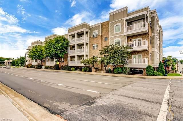 605 Market Street #316, Greensboro, NC 27401 (MLS #996655) :: Ward & Ward Properties, LLC