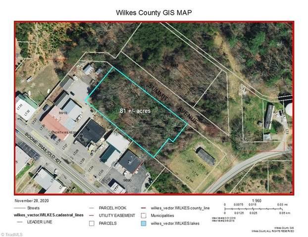 Summit Avenue, North Wilkesboro, NC 28659 (MLS #004700) :: Ward & Ward Properties, LLC