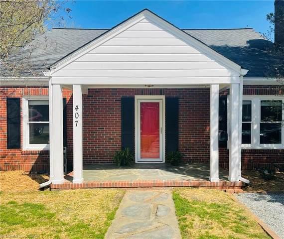 407 Mayflower Drive, Greensboro, NC 27403 (MLS #1018333) :: Lewis & Clark, Realtors®