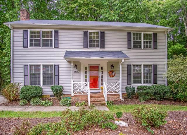 4419 Forest Walk Drive, Greensboro, NC 27455 (#1043425) :: Rachel Kendall Team
