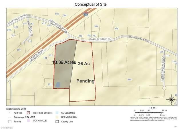 0 Main Church Road, Mocksville, NC 27028 (MLS #1043855) :: Hillcrest Realty Group