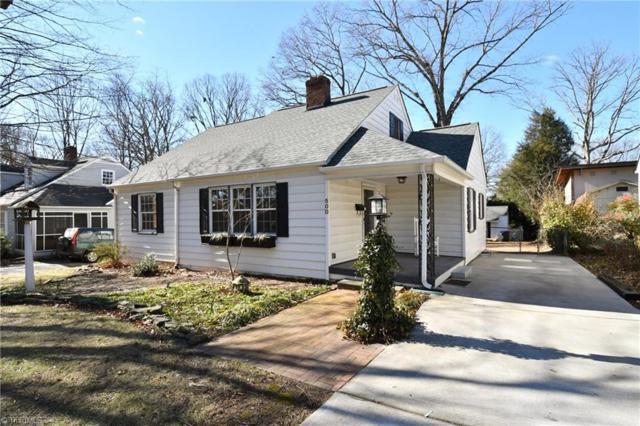 500 Knollwood Street, Winston Salem, NC 27103 (MLS #871021) :: Banner Real Estate