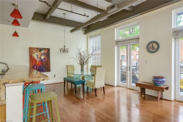 411 Marshall Street #110, Winston Salem, NC 27101 (MLS #889399) :: Kristi Idol with RE/MAX Preferred Properties