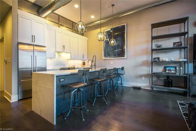 400 W 4th Street #306, Winston Salem, NC 27101 (MLS #892229) :: Kristi Idol with RE/MAX Preferred Properties