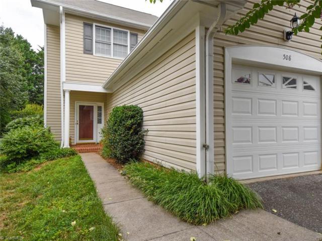 508 Sherwood Hills Drive, Winston Salem, NC 27104 (MLS #932598) :: Ward & Ward Properties, LLC