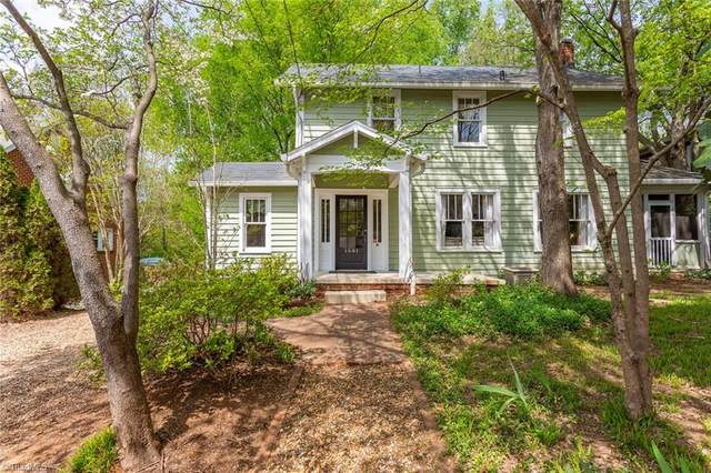 1581 Northwest Boulevard W, Winston Salem, NC 27104 (MLS #972099) :: Ward & Ward Properties, LLC