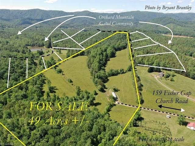 159 Fisher Gap Church Road, Lowgap, NC 27024 (MLS #977873) :: Ward & Ward Properties, LLC