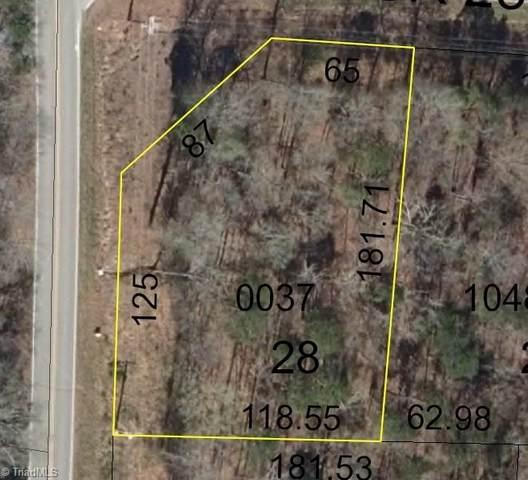 TBD Old Camp Road, Denton, NC 27239 (MLS #987311) :: Berkshire Hathaway HomeServices Carolinas Realty