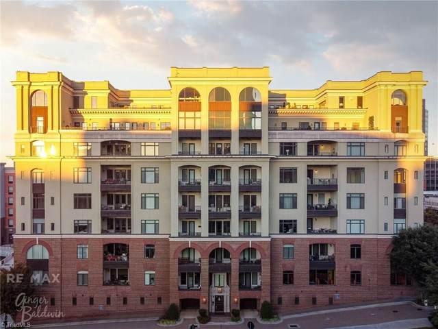 1 Park Vista Lane #410, Winston Salem, NC 27101 (MLS #997678) :: Greta Frye & Associates | KW Realty Elite