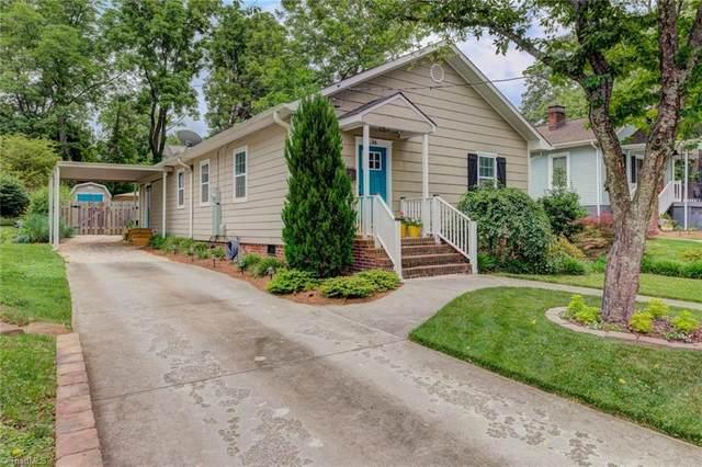 26 Vintage Avenue, Winston Salem, NC 27127 (MLS #1028678) :: Witherspoon Realty