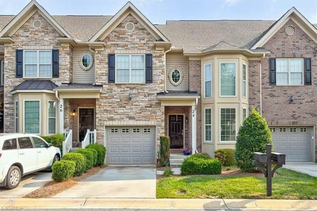 24 Tanner Woods Lane, Greensboro, NC 27410 (MLS #1039211) :: Ward & Ward Properties, LLC