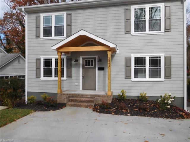 2341 Cherokee Lane, Winston Salem, NC 27103 (MLS #857811) :: Banner Real Estate