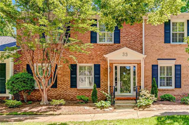 33 Fountain Manor Drive B, Greensboro, NC 27405 (MLS #977180) :: Berkshire Hathaway HomeServices Carolinas Realty