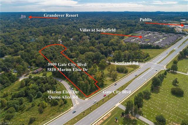 5810 Marion Elsie Drive, Greensboro, NC 27407 (MLS #995041) :: Ward & Ward Properties, LLC