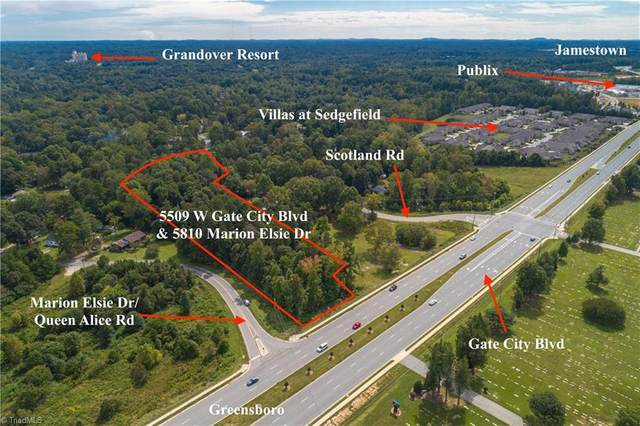 5909 W Gate City Boulevard, Greensboro, NC 27407 (MLS #995247) :: Ward & Ward Properties, LLC