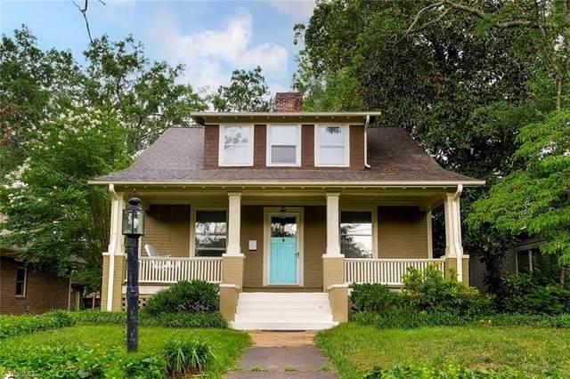 713 Simpson Street, Greensboro, NC 27401 (MLS #1027916) :: Ward & Ward Properties, LLC