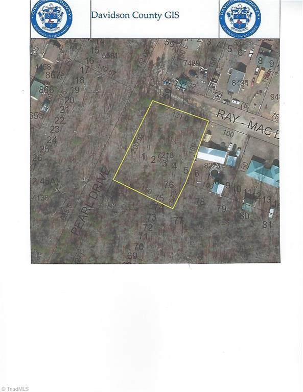 Lot 1 Pearl Drive, Lexington, NC 27292 (MLS #1007082) :: Berkshire Hathaway HomeServices Carolinas Realty