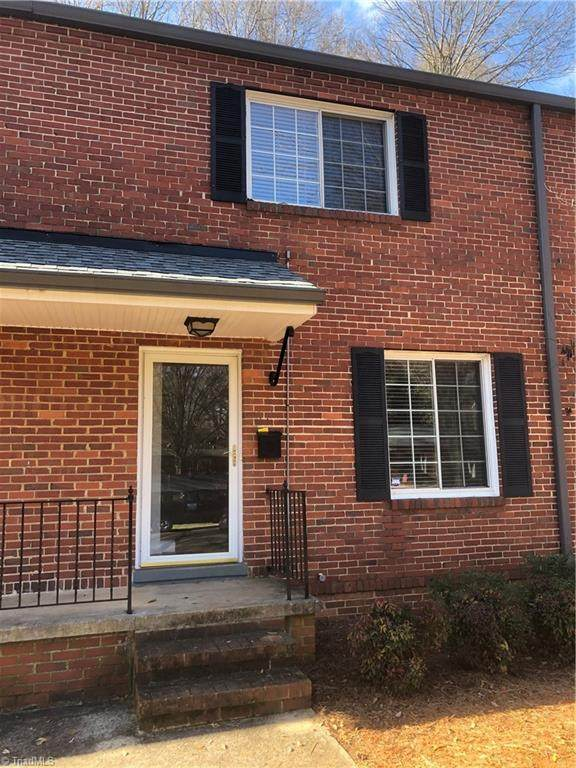 2632-D Greenbrier Road D, Winston Salem, NC 27104 (MLS #1010975) :: Ward & Ward Properties, LLC