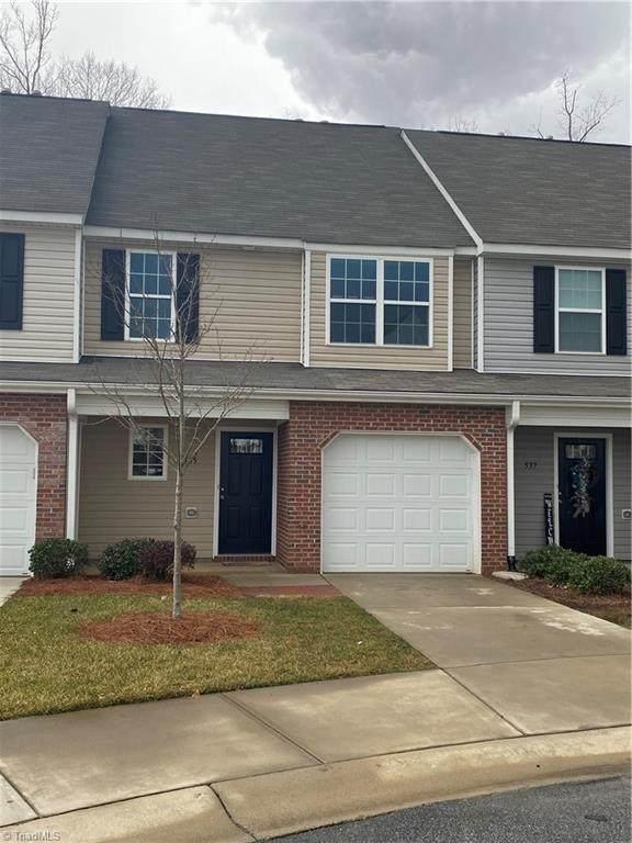 535 Song Sparrow Lane Bldg #3, Greensboro, NC 27409 (MLS #1013184) :: Berkshire Hathaway HomeServices Carolinas Realty