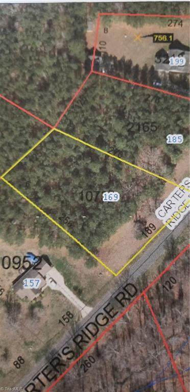 Lot 6 Carters Ridge Road, Advance, NC 27006 (MLS #1014675) :: Berkshire Hathaway HomeServices Carolinas Realty