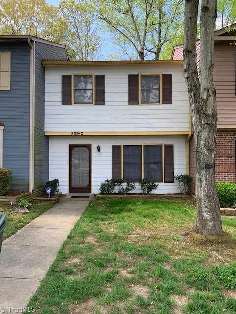 309 E Montcastle Drive C, Greensboro, NC 27406 (MLS #1019921) :: Berkshire Hathaway HomeServices Carolinas Realty